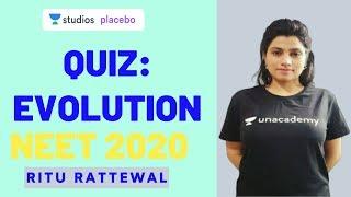 L2: Evolution   15 Most Important Questions for NEET 2020   Target NEET 2020   Ritu Rattewal