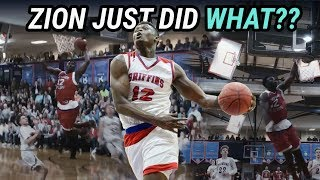 Zion Williamson Just Did Something Incredible...