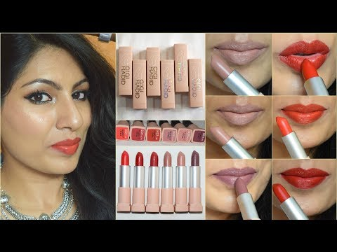 *New* MAYBELLINE x GIGI HADID LIPSTICK COLLECTION| Review & Swatches India 2018|All shades
