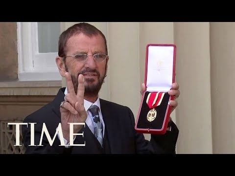 Prince William Just Knighted Ringo Starr And He Has The Perfect Plan For His New Medal  TIME