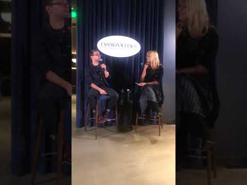 Bellevue Fashion Week Media Event with Christian Siriano
