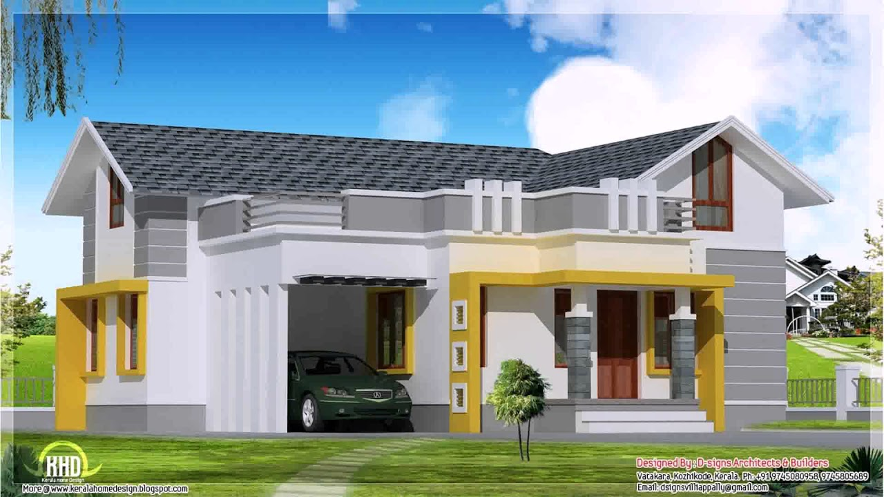 Modern House Plans Under 1500 Square Feet YouTube