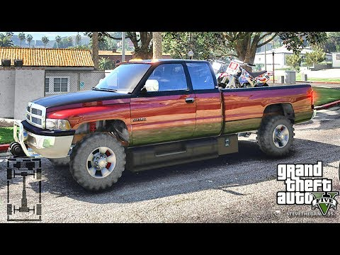 GTA 5 MOD#198 LET'S GO TO WORK!! (GTA 5 REAL LIFE MOD)