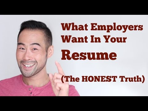 what employers really look for in a resume the brutal truth