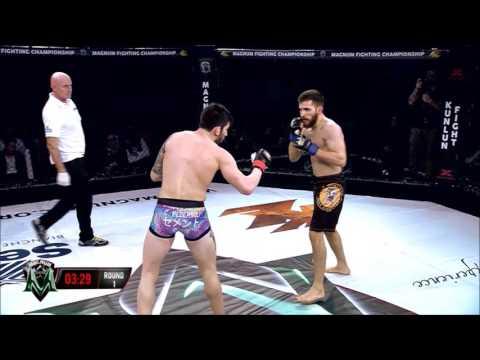 Carlo Pedersoli Jr. vs Orlando D'Ambrosio at Magnum Fighting Championship 1