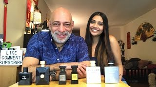 Vs Video with Aisha - Chanel, Tom Ford Private Blend, and Versace