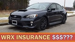 How MUCH Is Insurance On A Subaru WRX Limited? | WRX VLOG 9