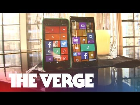 A closer look at Nokia's Windows Phone 8.1 devices