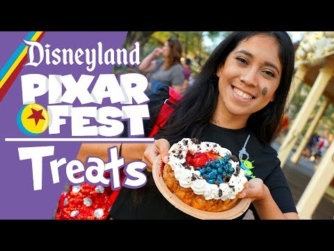 The Spectacular Treats Of Pixar Fest At Disneyland!