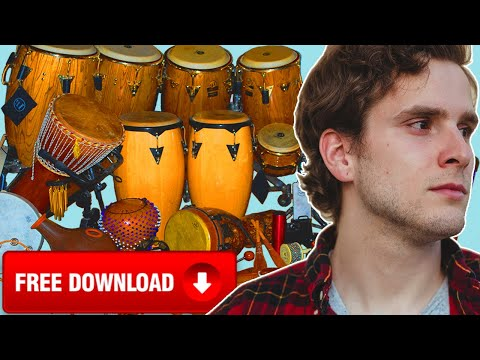 MY SECRET AUXILIARY PERCUSSION WORKFLOW (FREE DOWNLOAD)