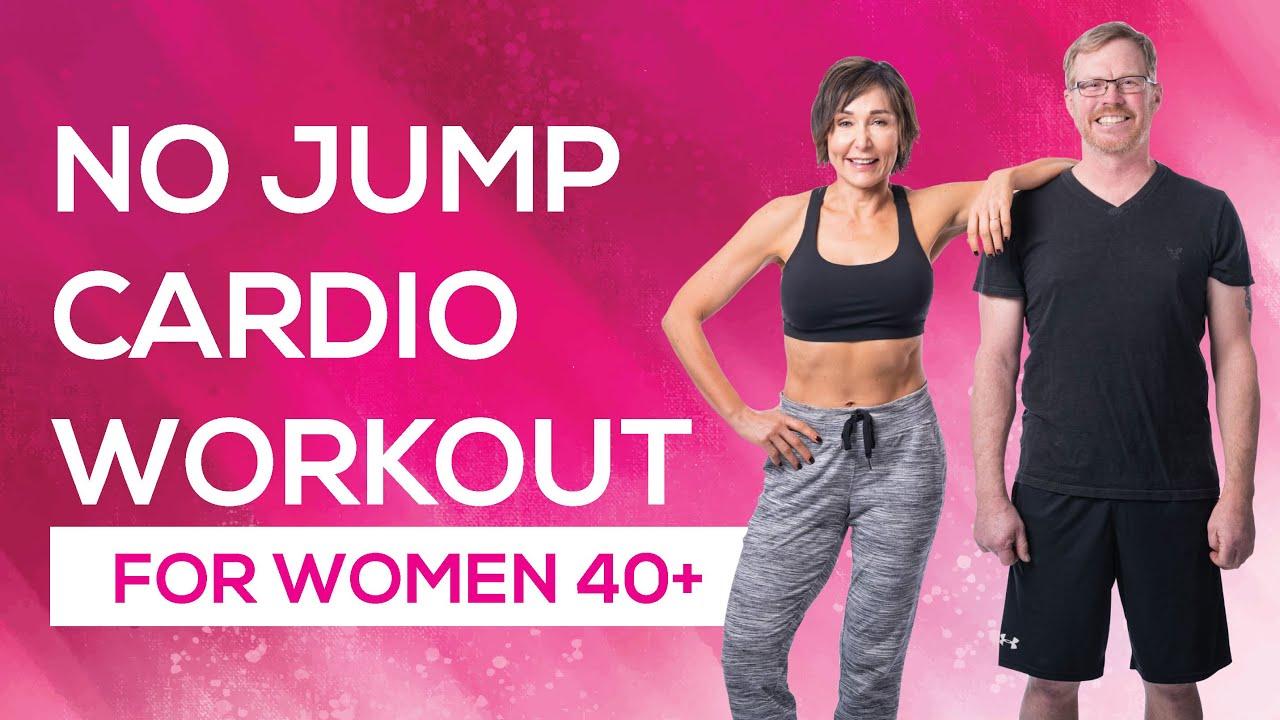 20-Minute No Jump Cardio - YouTube