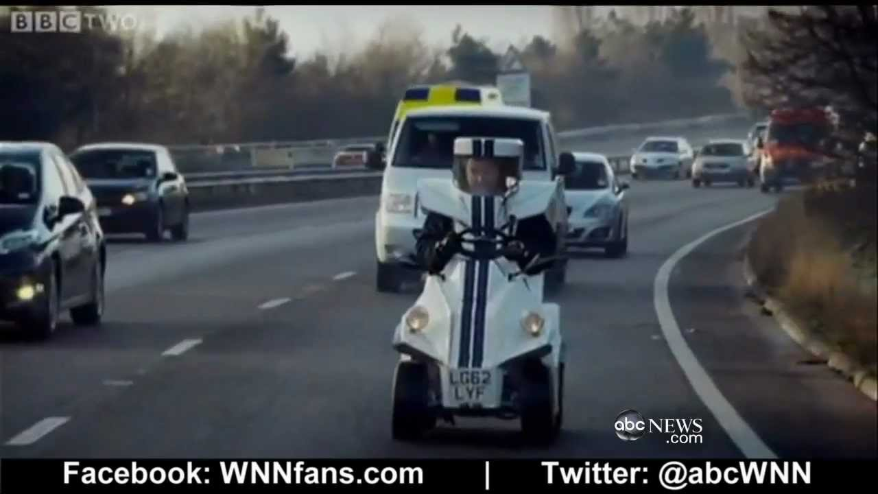 World S Smallest Car Given Test Drive By Top Gear Host