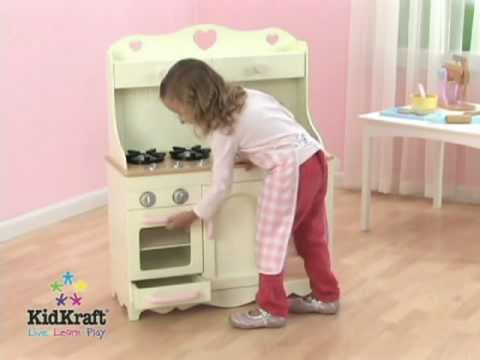 Cocina de juguete modelo prairie de kidkraft en eurekakids - Cocinas para ninos de juguete ...
