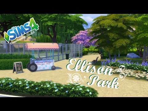 The Sims 4 - Community Build - Ellison Park