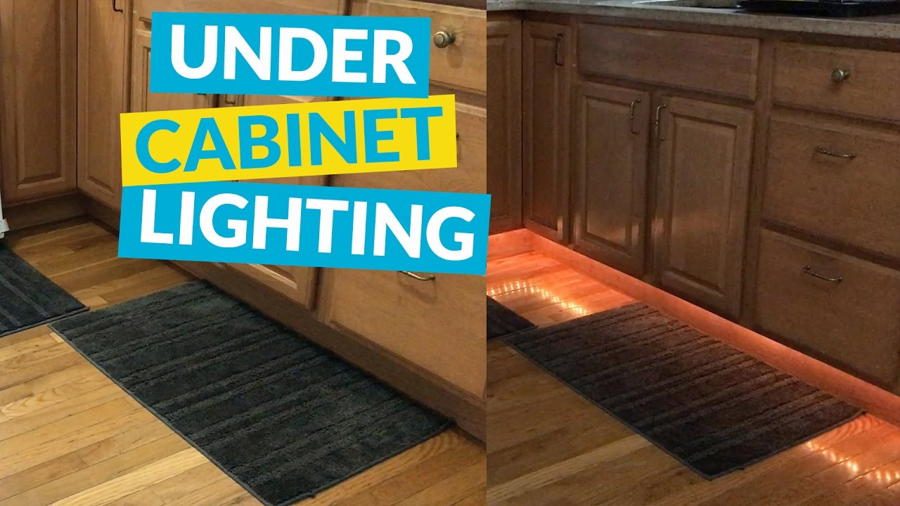 Under cabinet rope lighting youtube under cabinet rope lighting mozeypictures Choice Image