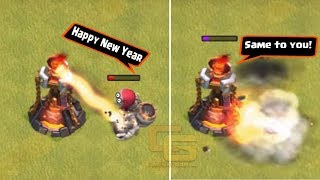 Clash of Clans Funny Moments Trolls Compilation #13 | COC Montage | Happy New Year 2018