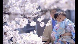 [日本兒童攝影] 櫻花季和服親子/日本京都八坂神社.花見小路/小巴老師攝影
