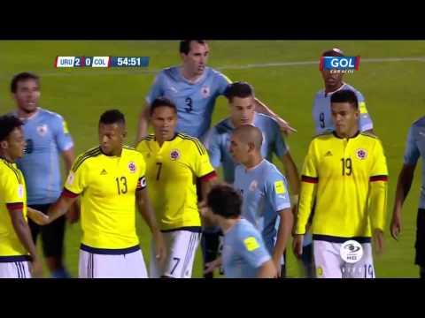 Uruguay Vs Colombia 3 0 Eliminatorias Rusia 2018 (Oct 13 2015)( Full HD 1080p)( Resumen Completo)