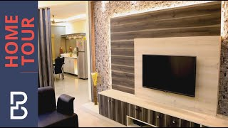Simple and Beautiful 3 BHK Flat interiors of Mr. Karan Arora   Pioneer Sunblossom   Electronic city