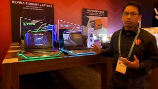 MSI @ CES 2020 - Creator Laptop With Mini Led And GS66