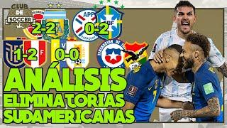 🔴 ANÁLISIS ELIMINATORIAS: COLOMBIA vs ARGENTINA | PARAGUAY vs BRASIL | VENEZUELA vs URUGUAY Y MÁS