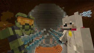 Minecraft Xbox - Survival Madness Adventures - Halo Ring World [316]