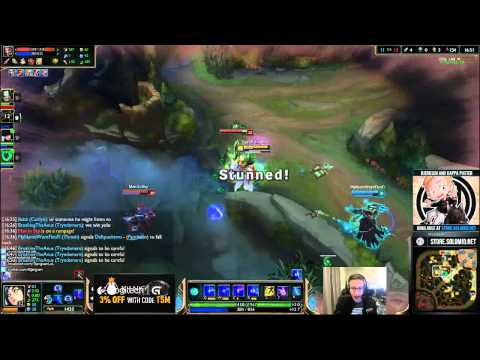 Bjergsen Faces Scripter in Game
