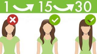 10 Wskazówek Na Szybki Porost Włosów - Włosy Rosną i Rosną