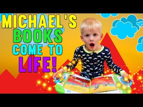 Michael's Story Time Comes to Life! Family Fun Pack