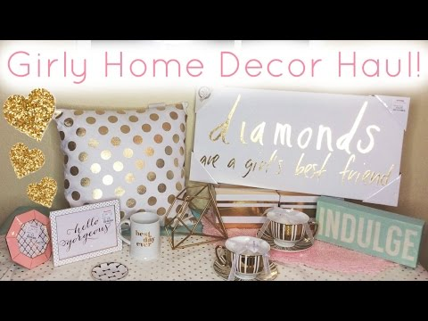 Home Decor Haul ♡ HomeGoods, T.J. Maxx, Marshall's, & Hobby Lobby