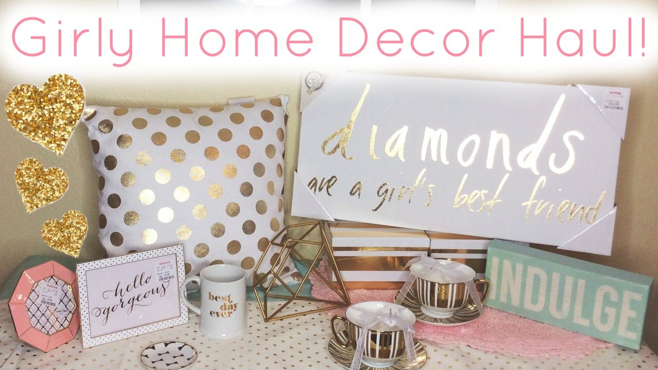 Home Decor Haul Homegoods T J Maxx Marshall 39 S