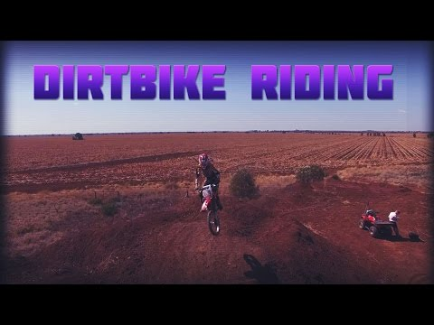 Dirtbike Riding in central Queensland | Aerial Film