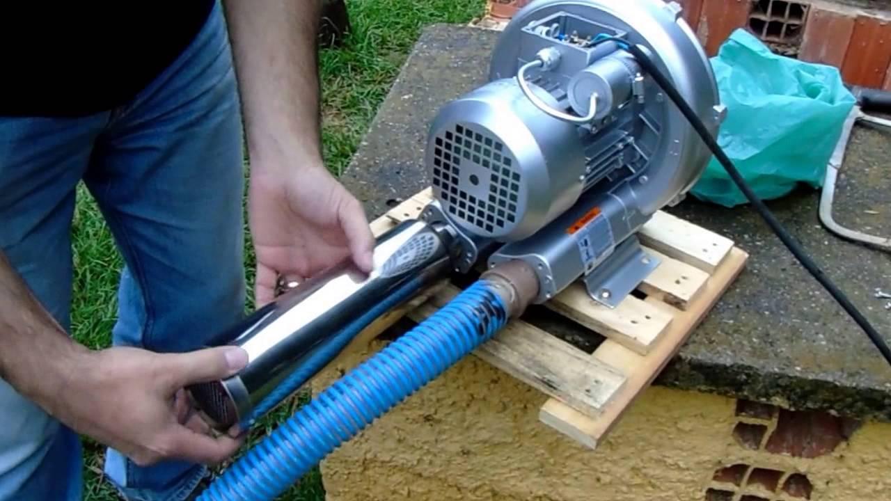Silenciador para compressor de ar piscicultura e for Construccion de estanques para piscicultura