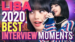 Lalisa Manoban's Most Memorable Interview Moments of 2020