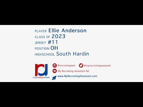 Ellie Anderson 2023 OH -- South Hardin High School
