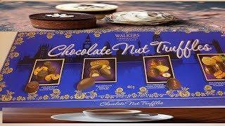 GANACHE HEAVEN! WALKERS OF LONDON  CHOCOLATE NUT TRUFFLES MASSIVE 480g box
