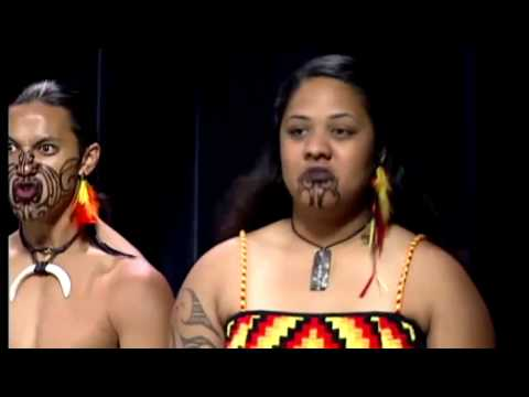 Maori dance group performs