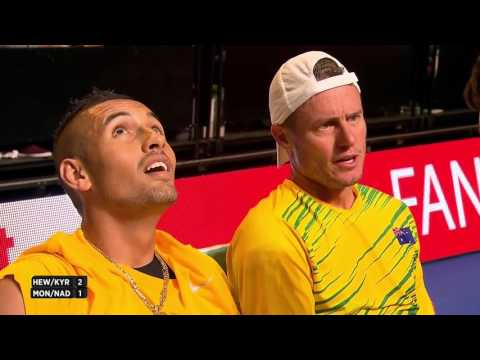 Hewitt/Kyrgios vs. Monfils/Nadal