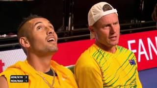 Hewitt/Kyrgios vs. Monfils/Nadal (Sydney, 2016-01-11)