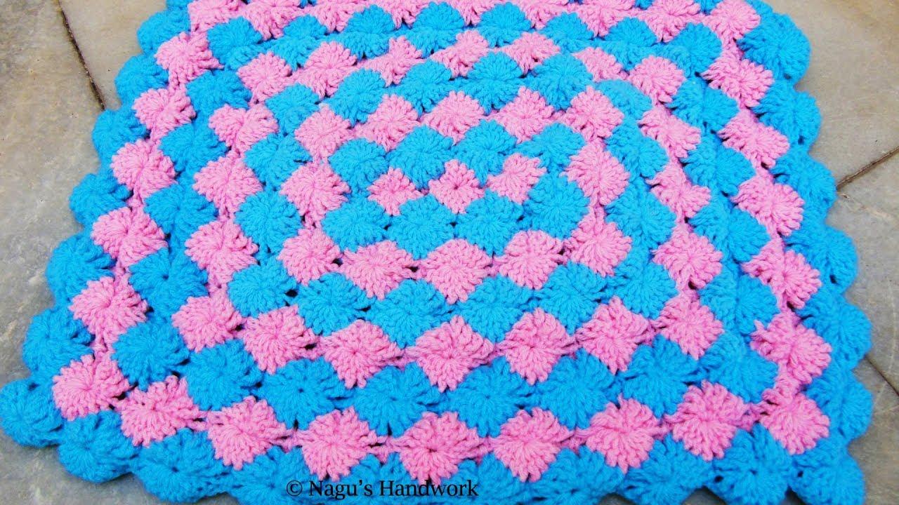 Bavarian Blanket Crochet Crochet Baby Blanket Rectangular Baby