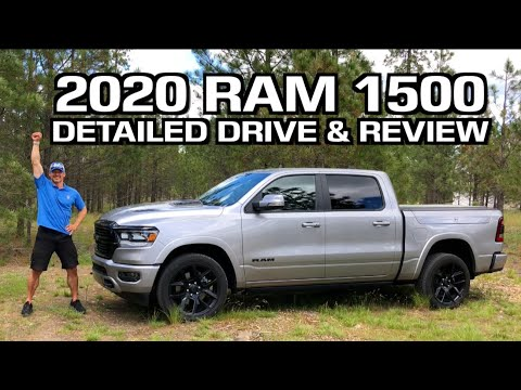 Full Drive and Review: 2020 RAM 1500 featuring the EcoDiesel Engine