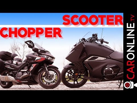 SCOOTER ou CHOPPER? | HONDA VULTUS e DN-01 [Review Portugal]