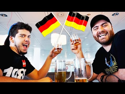 GamesCom 2015 - FLYING TO GERMANY w/Typical Gamer!! + Getting Stuck at the Airport | HIKE I.R.L.