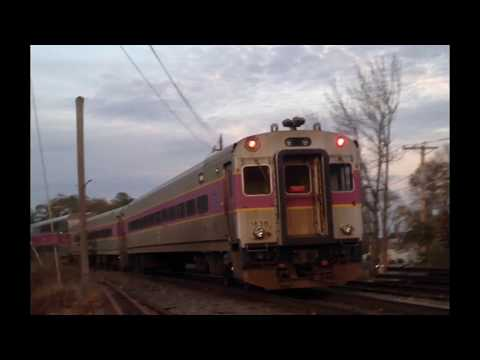 (OLD VIDEO) MBTA 1071 Leads A Double Header Twice!