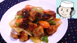 ヘルシー酢豚♪ Healthy Subuta(sweet‐and‐sour pork)♪