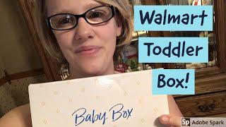 Walmart Toddler Box Unboxing!!