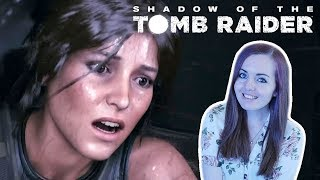 BRAND NEW Shadow Of The Tomb Raider Gameplay - E3 2018 Trailer Reaction
