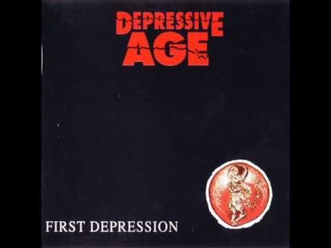 Depressive Age - Circles Colour Red