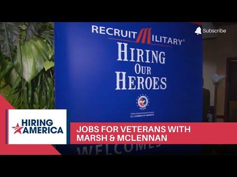 Jobs for Veterans with Marsh & McLennan