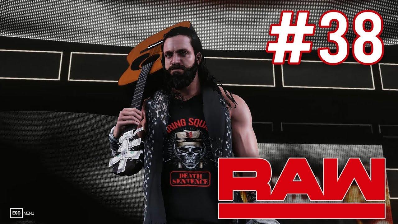 WWE 2K19 Universe Mode - RAW #38 Highlights